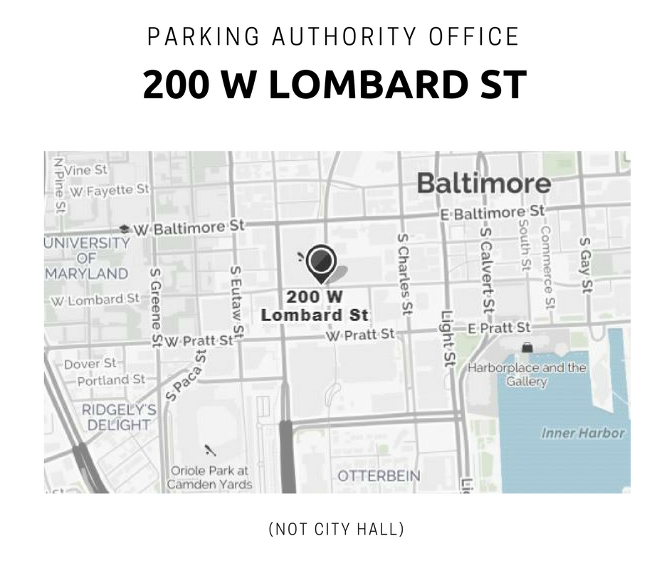 PABC Office is at 200 W Lombard Street